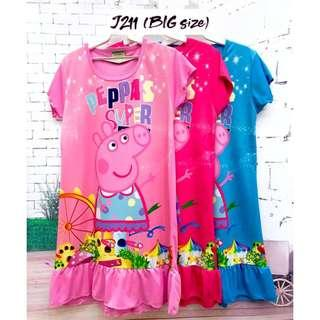❤Bargain Sale❤ Peppa Jersey Dress J211 *Buy any 3 and above@ RM11 each*