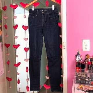 Levis High Rise Skinny Denim Jeans