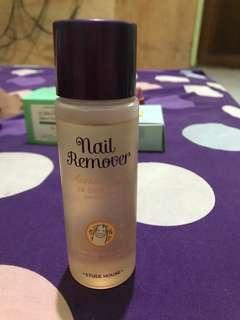 NAIL REMOVER ACETONE FREE