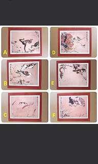 Chinese Finger Brush Painting