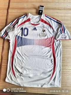 France Away Jersey FIFA World Cup 2006