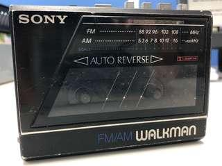 Sony Walkman WM-F77 for parts or collection