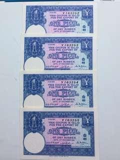 Coupon banknotes