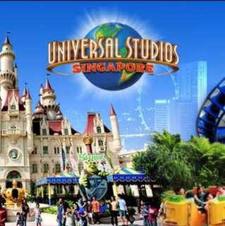 🚚 Universal Studios (Adult physical tickets)