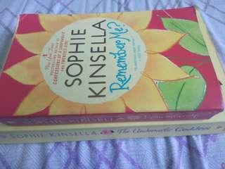 Sophie Kinsella- THE UNDOMESTIC GODDESS/ REMEMBER ME?