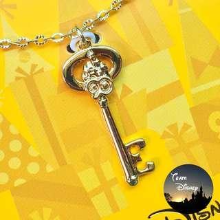 [Xmas Sale] Mickey 90 Party Event - Key Charm Necklace 米奇90派對盛事 - 鑰匙吊墜頸鏈 