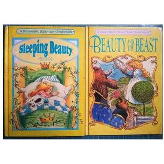 Sleeping Beauty, Beauty and the Beast (Hardcover, Children)