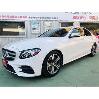 【SUM尼克汽車】2017 Benz E300 2.0L