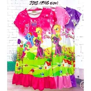 ❤Bargain Sale❤ My Little Pony Jersey Dress J212 *Buy any 3 and above@ RM11 each*