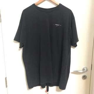 Off-White Faded 3D Print T-Shirt