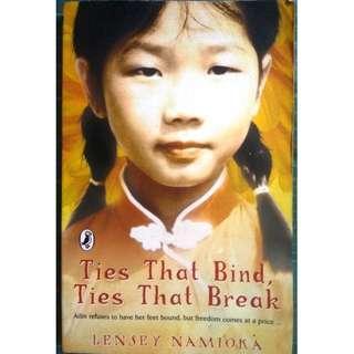 Ties That Bind, Ties That Break by Lensey Namioka ( Historical Fiction)