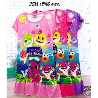 ❤Bargain Sale❤ Baby Shark Jersey Dress J213 *Buy any 3 and above@ RM11 each*