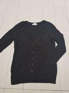 Forever 21 black cardigan