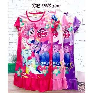 ❤Bargain Sale❤ My Little Pony Jersey Dress J215 *Buy any 3 and above@ RM11 each*