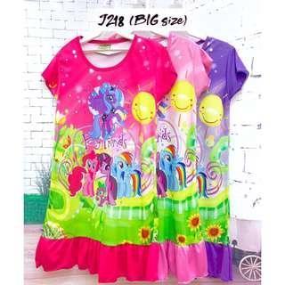 ❤Bargain Sale❤ My Little Pony Jersey Dress J218 *Buy any 3 and above@ RM11 each*