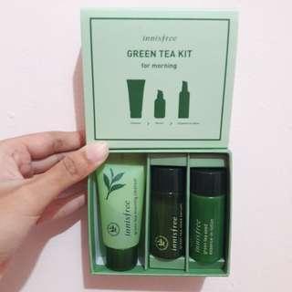 Sample Innisfree Green Tea Kit
