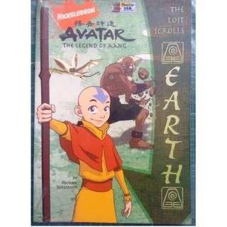 The Lost Scrolls: Earth (Avatar) (Children, Fantasy)