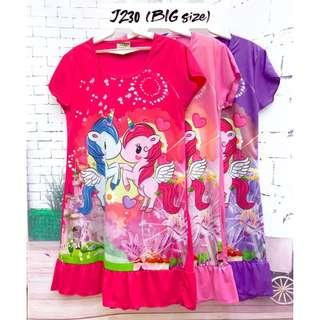 ❤Bargain Sale❤ Unicorn Jersey Dress J230 *Buy any 3 and above@ RM11 each*