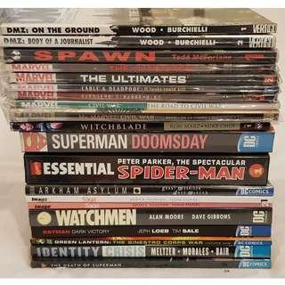 Misc English TPB (Marvel, DC, Vertigo, Image Comics)