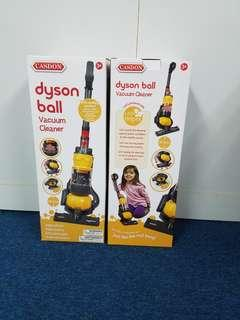 Casdon - Dyson Ball Vacuum with real suction and sounds.