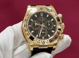 Sale/Trade: Yellow Gold Rolex Daytona - 116518