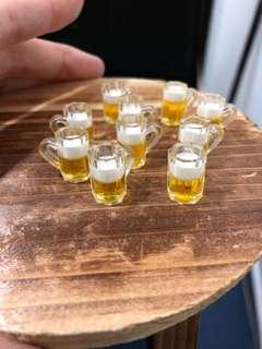 Handmade Miniature Beer (Resin)