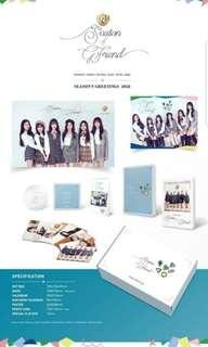 GFriend 2019 official Season Greeting