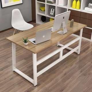 簡約電腦桌台式桌家用簡易小書桌現代辦公桌寫字台雙人桌子經濟型