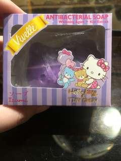 Hello Kitty Soap Purple