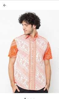 Baju Batik laki laki pradawita