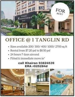 Office rent Orchard area