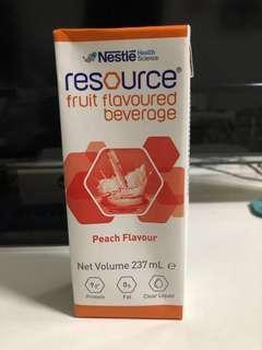 🚚 Nestle resource orange flavor