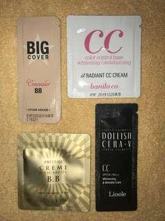 BB/CC Cream Bundle