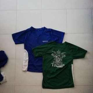 Meridian Junior College House Shirts