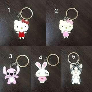 Cute animal keychains (Christmas / party door gift)