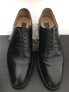 Black Wholecut Goodyear Balmorals
