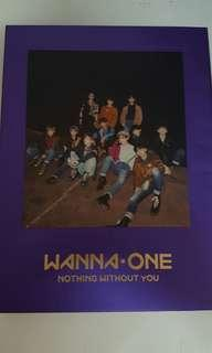 Wannaone: Nothing Without You (purple ver)