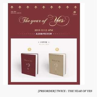 [PREORDER] TWICE : THE YEAR OF YES