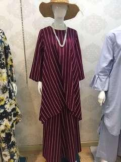 Stripes Linen top & bottom