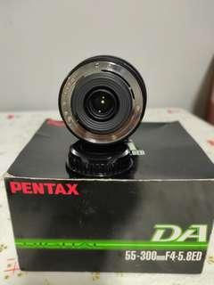Pentax DA 55-300 telephoto lens