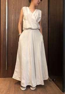 🚚 麻洋裝
