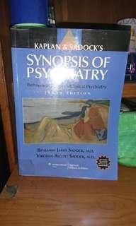 Kaplan and Sadock's Synopsis of Psychiatry 10th ed