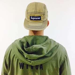 WTAPS SWAMP / JACKET. COTTON. SATIN 帽衫半拉鍊