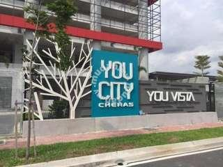 You Vista car park for rent