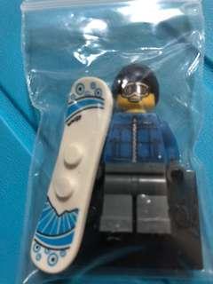 LEGO Minifigures figures Series Snowboarder Male