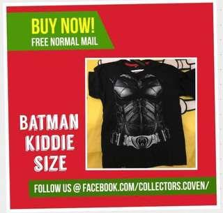 Batman Superhero Kids Size Med & Large