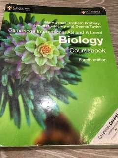 A level Biology Coursebook