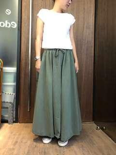 🚚 橄欖綠 長裙