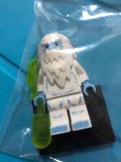 Lego Minifigure Figure Series Yeti