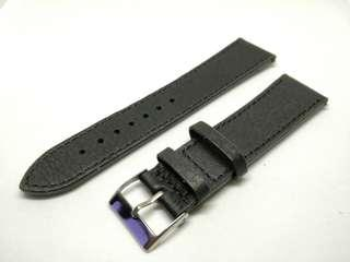 Classic 22mm Leather strap black 22mm